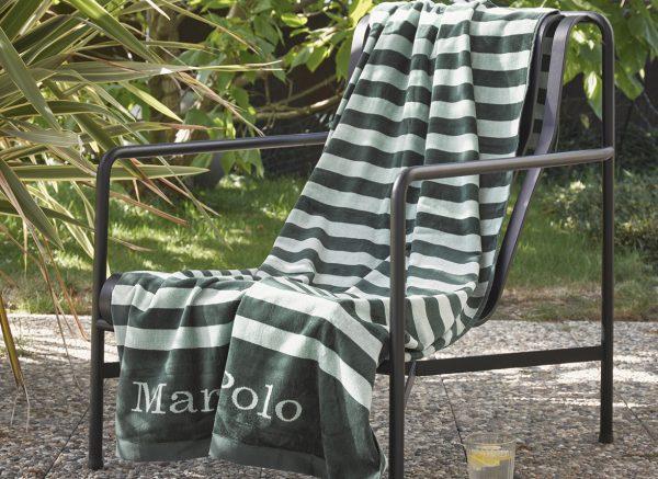 Marc O'Polo strandlaken Saburo green