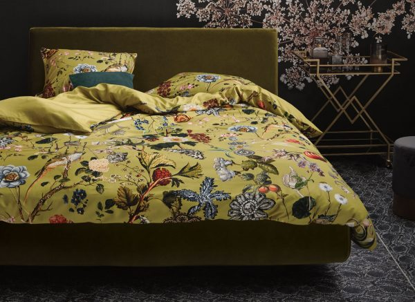 Essenza Home dekbedovertrek Xess golden yellow