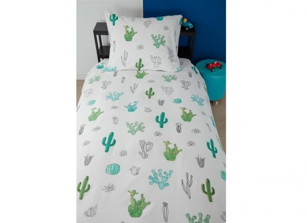 Beddinghouse dekbedovertrek Cactus green