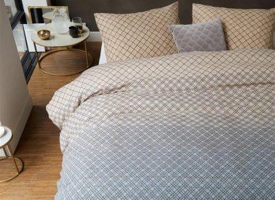 Beddinghouse dekbedovertrek Lunas grey