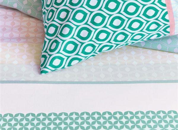 Beddinghouse dekbedovertrek Dolly green