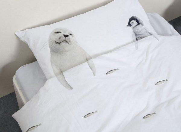 Snurk dekbedovertrek Arctic Friends