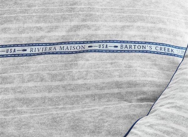 Riviera Maison dekbedovertrek Bartons Creek grey