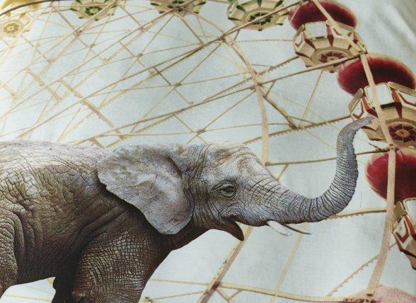 Beddinghouse dekbedovertrek Circus