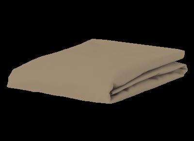 Morph Design perkal hoeslaken 200tc, taupe