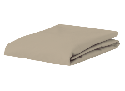 Morph Design perkal hoeslaken 400tc, zand