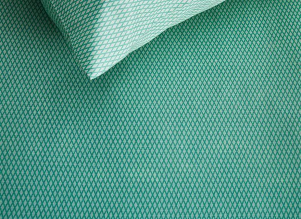 Kardol & Verstraten dekbedovertrek Phenomena blue green