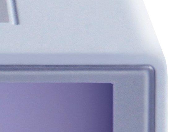 Lexon wekker Flip light grey