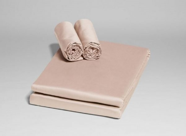 Yumeko dekbedovertrek satijn dusty rose