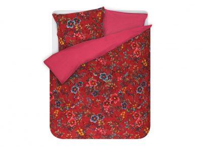 Pip Studio dekbedovertrek Floral Delight red