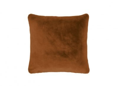 Essenza Home sierkussen Furry leather brown