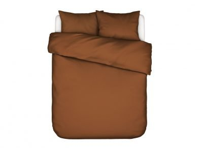Essenza Home dekbedovertrek Minte leather brown