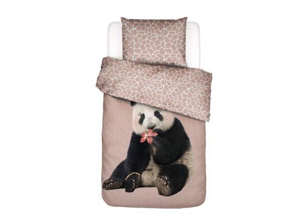 Covers & Co dekbedovertrek Panda Dreams pink