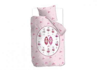 Beddinghouse dekbedovertrek Ballet pink