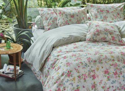 Pip Studio dekbedovertrek Chinese Rose Bouquet wit