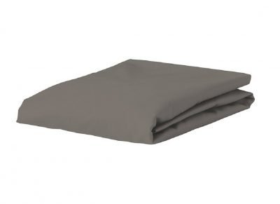Essenza Home Premium Jersey hoeslaken, steel grey