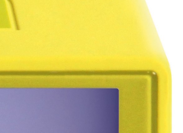 Lexon wekker Flip yellow