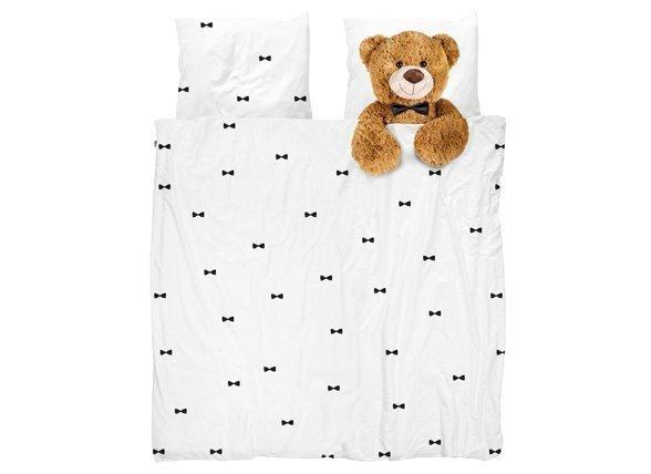 Snurk dekbedovertrek flanel Teddy