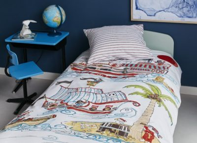 Beddinghouse dekbedovertrek Pirate Ship