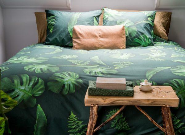 Snurk dekbedovertrek Green Forest