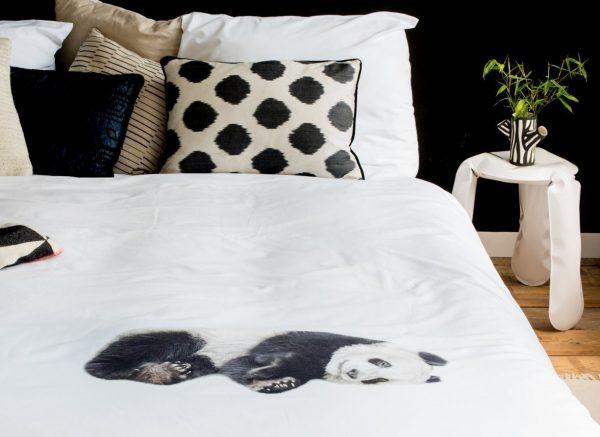 Snurk dekbedovertrek Lazy Panda