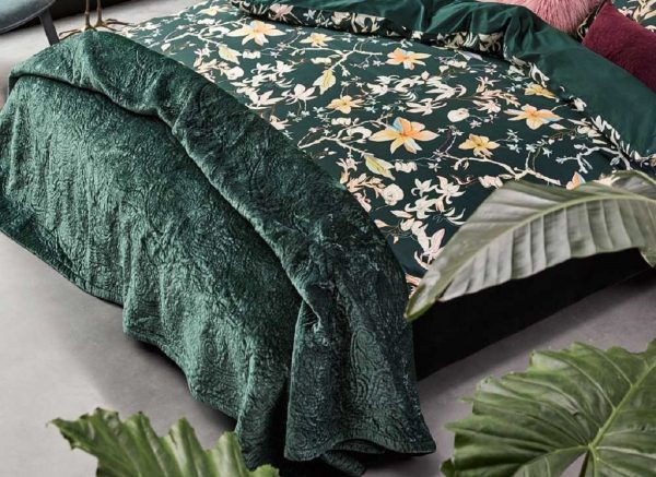 Essenza Home sprei Roeby pine green