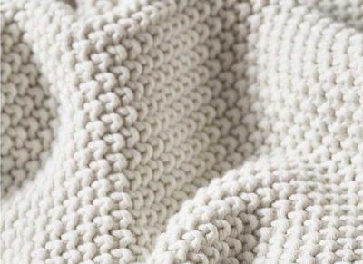 Marc O'Polo plaid Nordic Knit offwhite