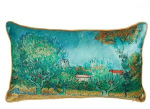 Beddinghouse sierkussen x Van Gogh Museum Countryside Blue