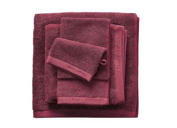 Marc O'Polo badgoed Timeless Uni warm red
