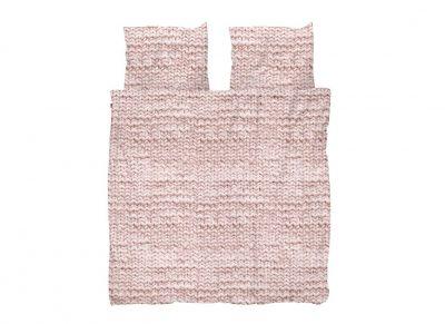 Snurk dekbedovertrek Twirre dusty roze
