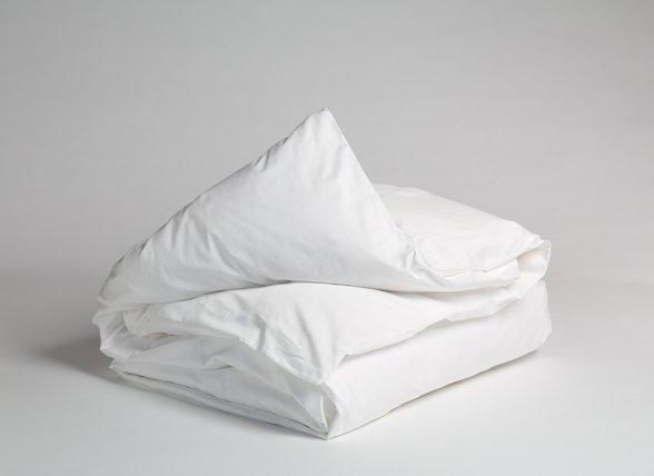 Yumeko dekbedovertrek perkal 300TC pure white