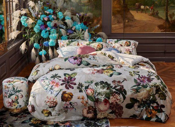 Essenza Home dekbedovertrek Fleur grey