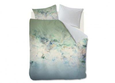 Kardol & Verstraten dekbedovertrek Alternation blue green