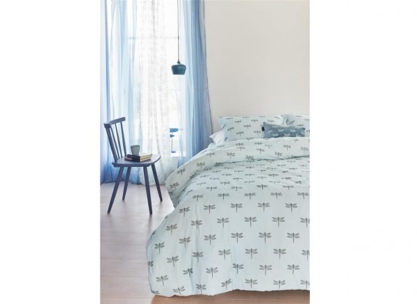Beddinghouse dekbedovertrek Libelo blue