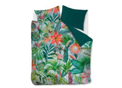 Beddinghouse dekbedovertrek Manoa green