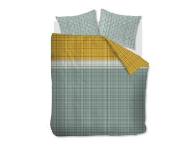 Beddinghouse dekbedovertrek Mirte grey green