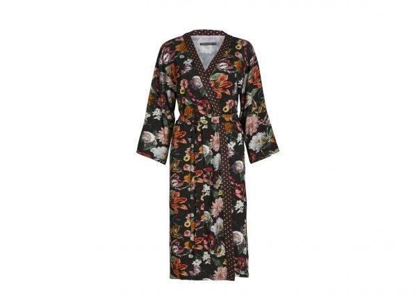Essenza Home kimono Sarai Filou espresso