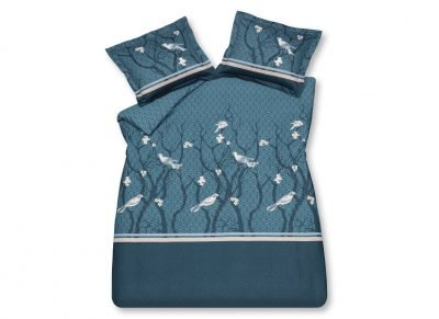 Vandyck dekbedovertrek Small Birds blue