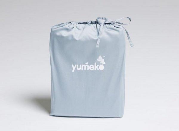 Yumeko dekbedovertrek satijn sky blue