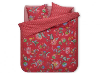 Pip Studio dekbedovertrek Jambo Flower red