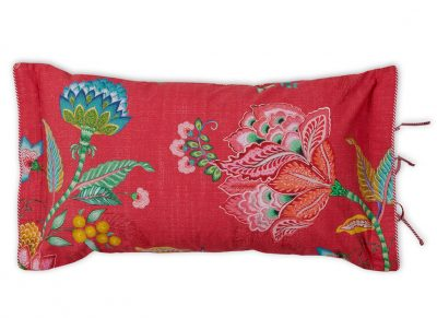 Pip Studio sierkussen Jambo Flower red 35×60