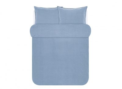 Marc O'Polo dekbedovertrek Washed Tencel blue