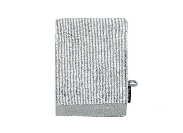 Marc O'Polo badgoed Timeless Tone Stripe grey/white