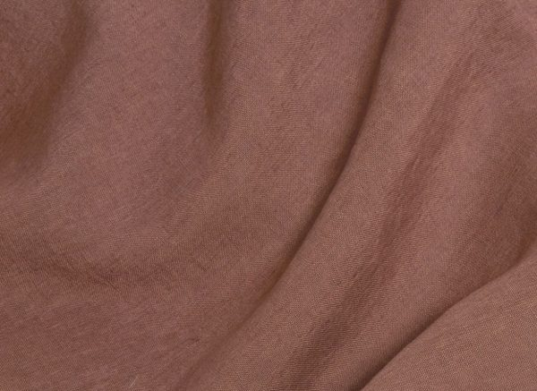 Yumeko dekbedovertrek washed linen clay rose