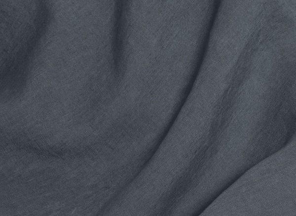 Yumeko dekbedovertrek washed linen earth blue
