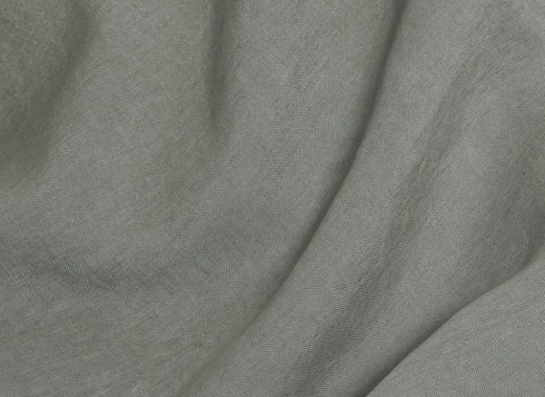 Yumeko dekbedovertrek  washed linen stone green