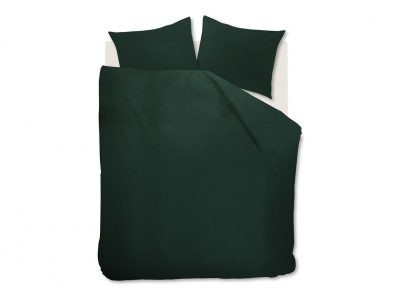 Beddinghouse dekbedovertrek Basic dark green