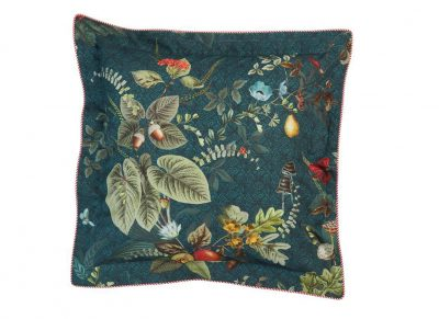 Pip Studio sierkussen Fall in Leaf dark blue 45x45