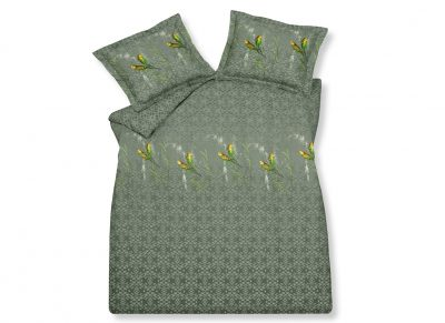 Vandyck dekbedovertrek Evening Parrot olive