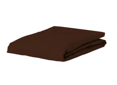 Essenza Home hoeslaken katoen satijn, chocolate